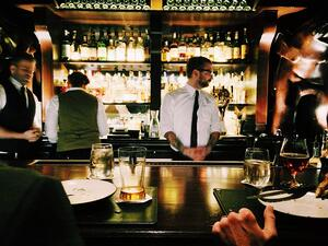Professions like bartenders have high employee turnover and employee attrition rates.