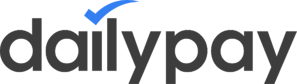 The DailyPay logo. DailyPay is now partnered with Netspend.