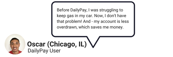 DailyPay users can use the payday app to withdraw money for vital expenses.