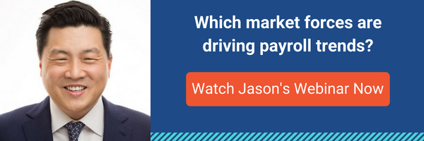 DailyPay CEO, Jason Lee, discusses the market trends that are driving change in the payroll industry.